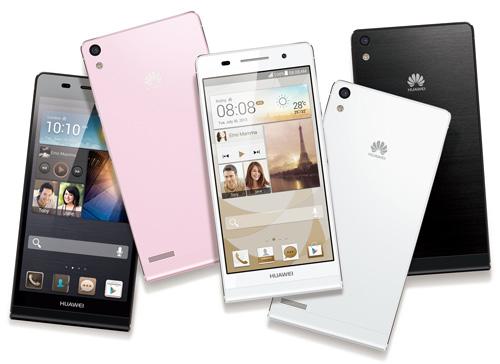 Смартфон Huawei Ascend P6 (январь 2014)