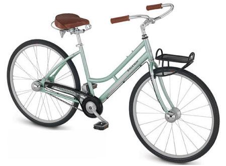 Женский дорожный велосипед.
