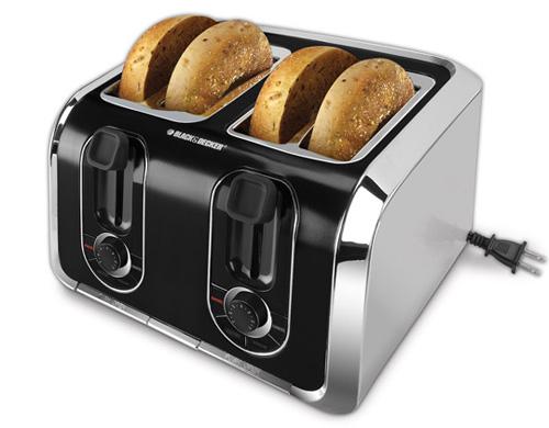 Мощность тостера может быть любой.