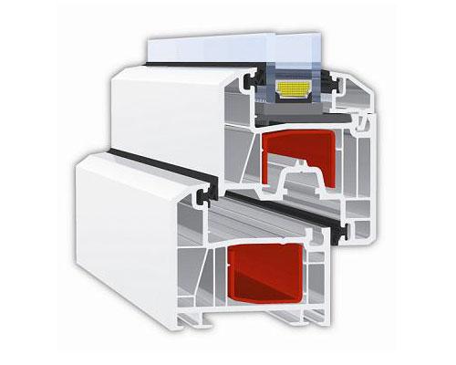 ПВХ профиль, как основа, является одной из главных составляющей пластикового окна.