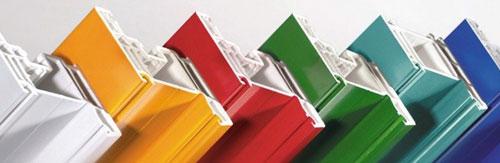 Дизайн окна - это дизайн профиля ПВХ.