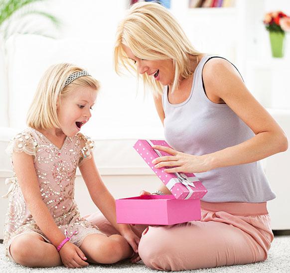Теперь Вы знаете, что подарить маме на день матери.