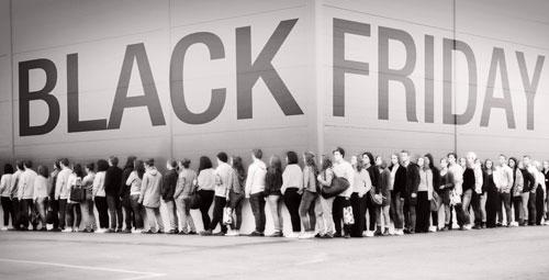 Черная пятница - день самых больших распродаж и скидок!