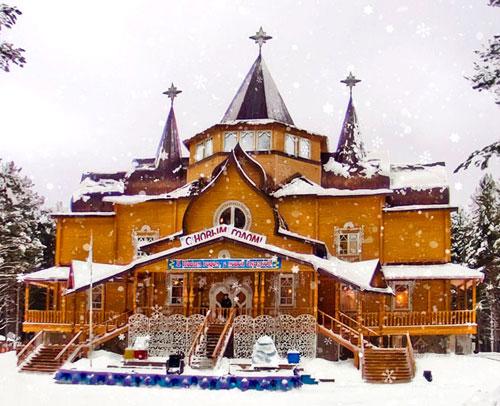 Великий Устюг - резиденция Деда Мороза.