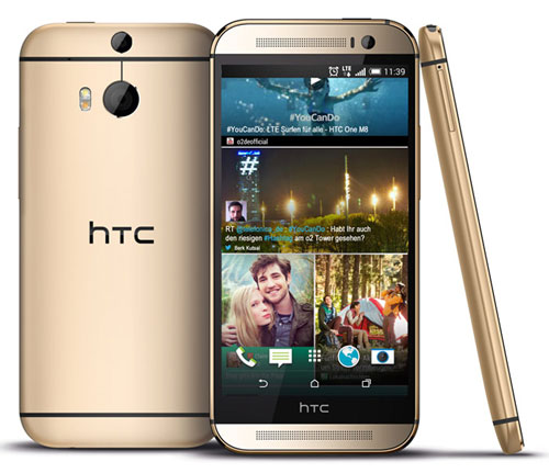 Смартфон HTC One M8 (январь 2015 год)