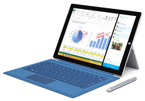 Планшет Microsoft Surface Pro 3 (март 2015 год)