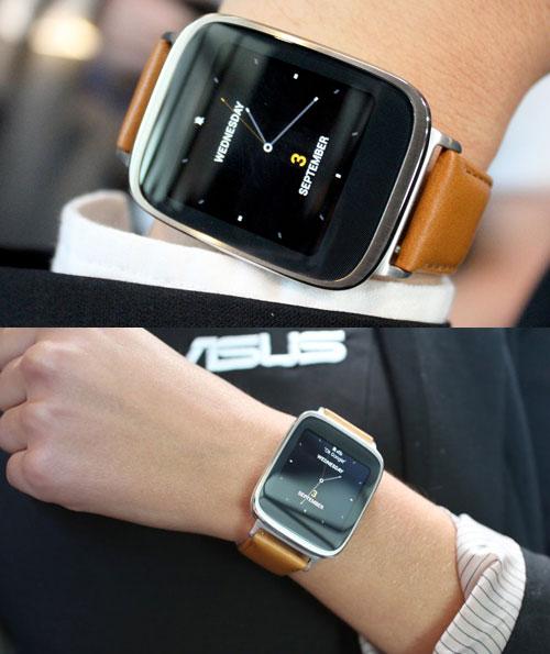Умные часы ASUS ZenWatch (март 2015 год)