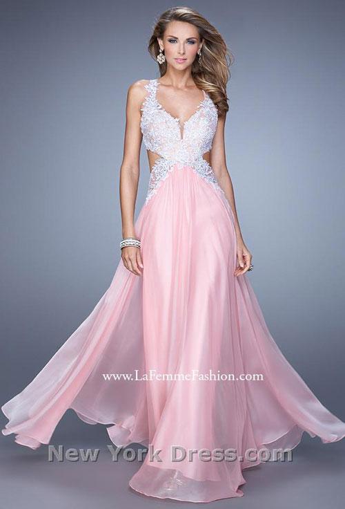 Выпускное платье 2015 La Femme (фото с NewYorkDress).