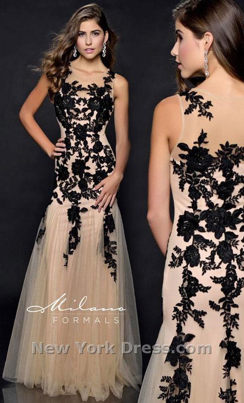Платье на выпускной Milano Formals 2015 (фото с NewYorkDress).