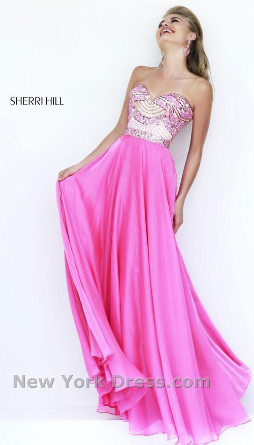 Платье на выпускной 2015 от Sherri Hill (фото с NewYorkDress).