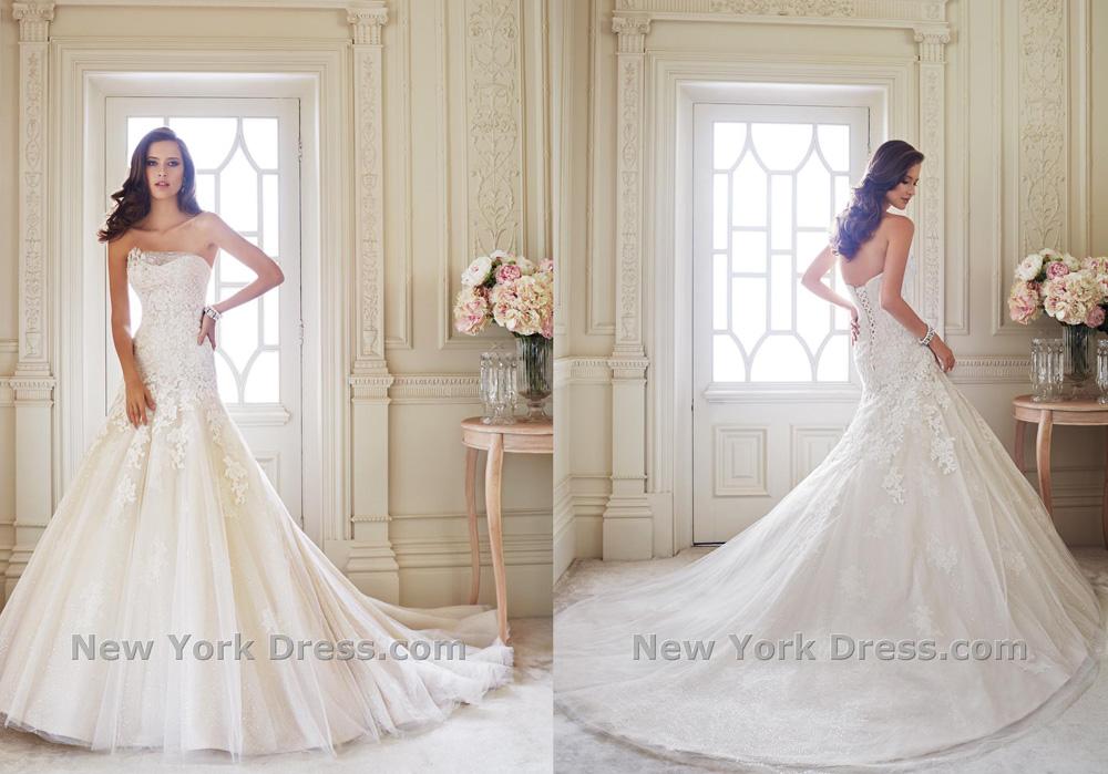 Свадебное платье 2015 Sophia Tolli (фото с NewYorkDress)
