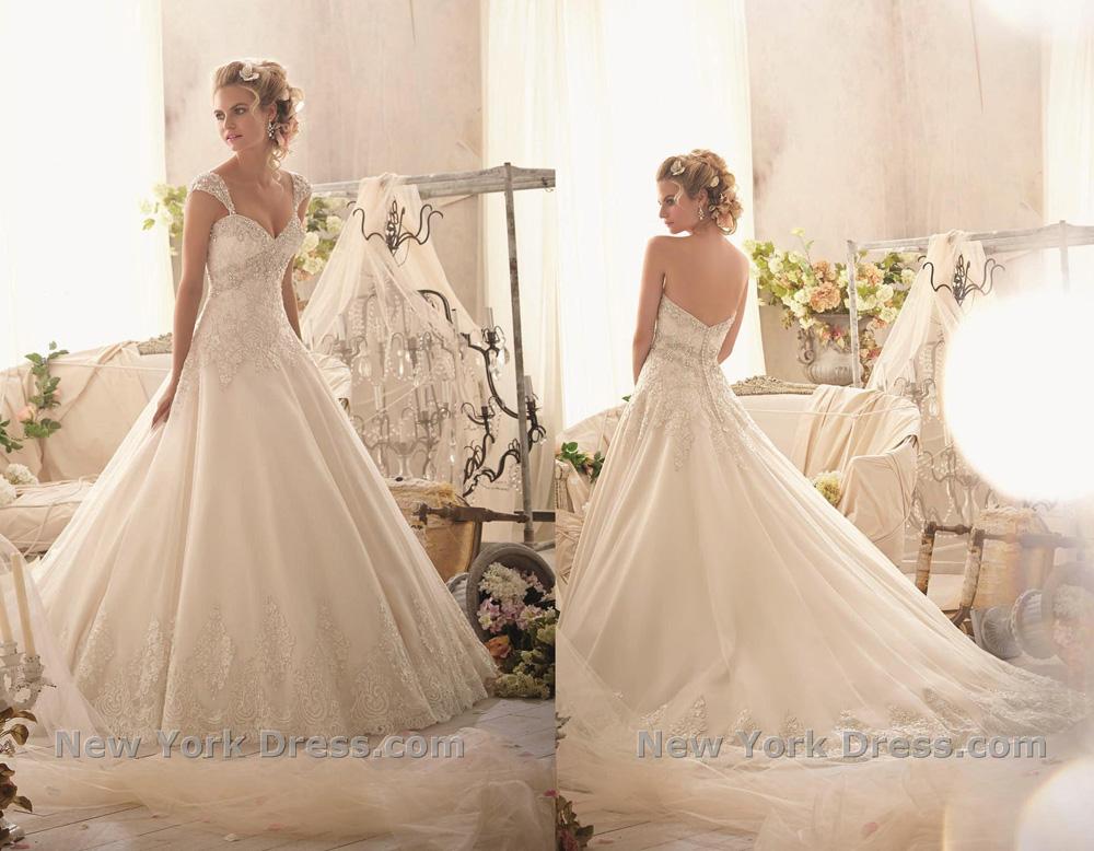 Свадебное платье 2015 Mori Lee (фото с NewYorkDress)