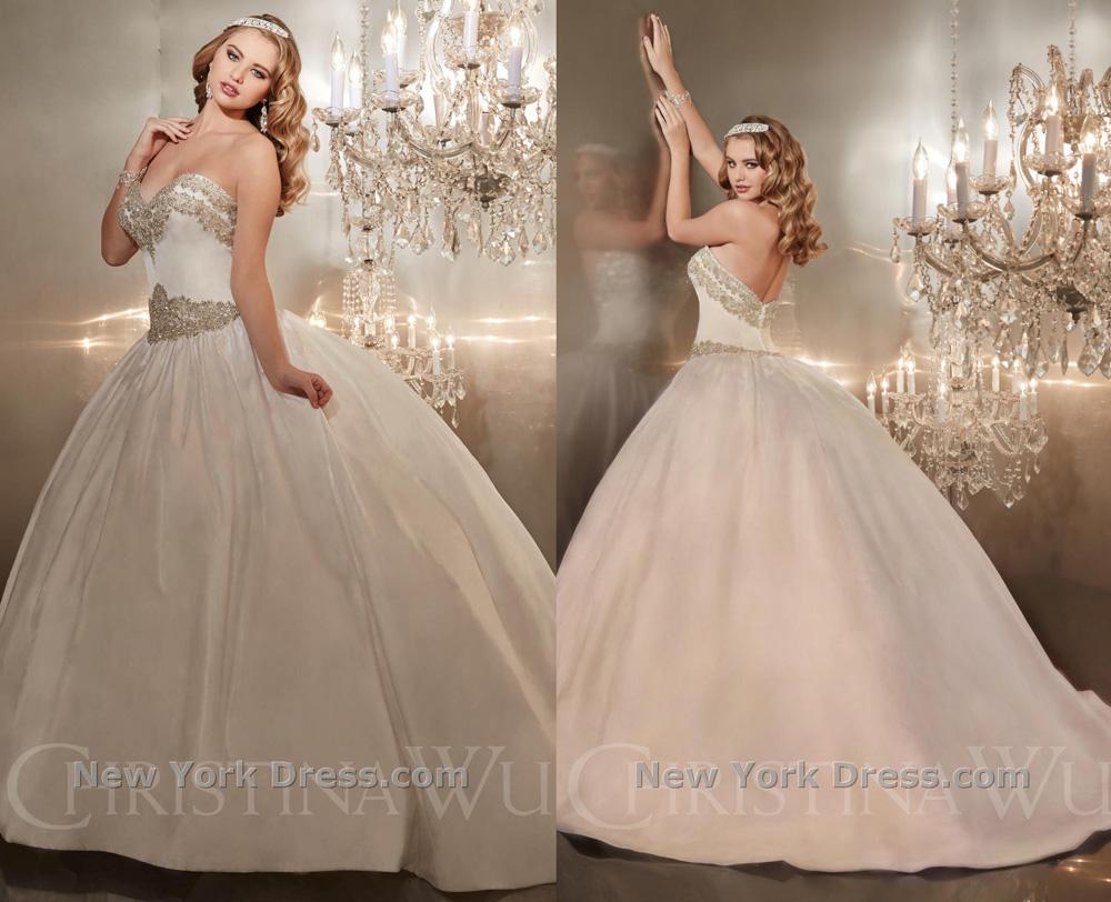 Свадебное платье 2015 Christina Wu (фото с NewYorkDress)