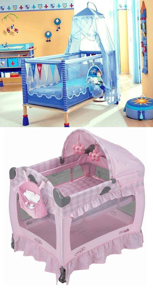 Кроватка-манеж для малыша