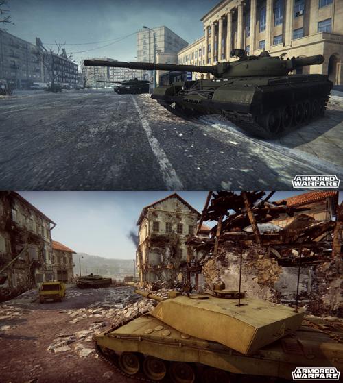 Основная цель игрока в Armored Warfare – уничтожить врага в любых условиях боя