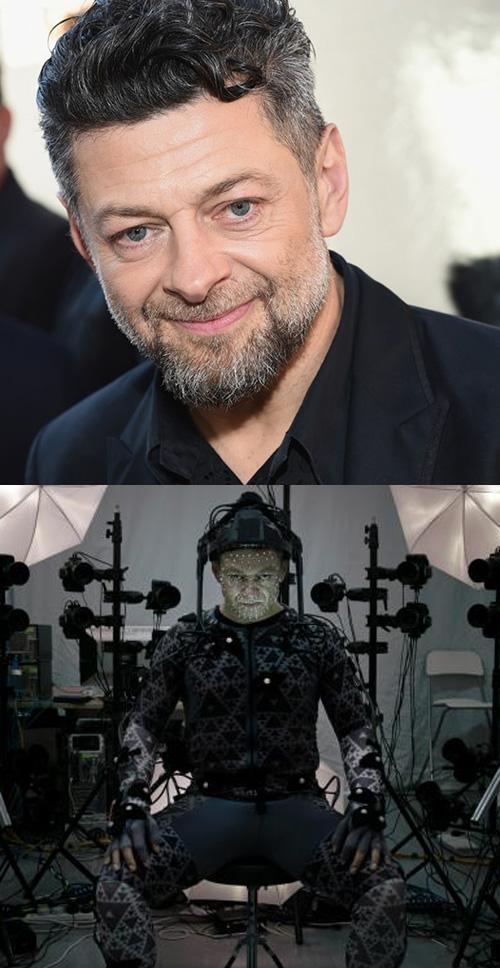 Роль Сноука – актер Энди Серкис