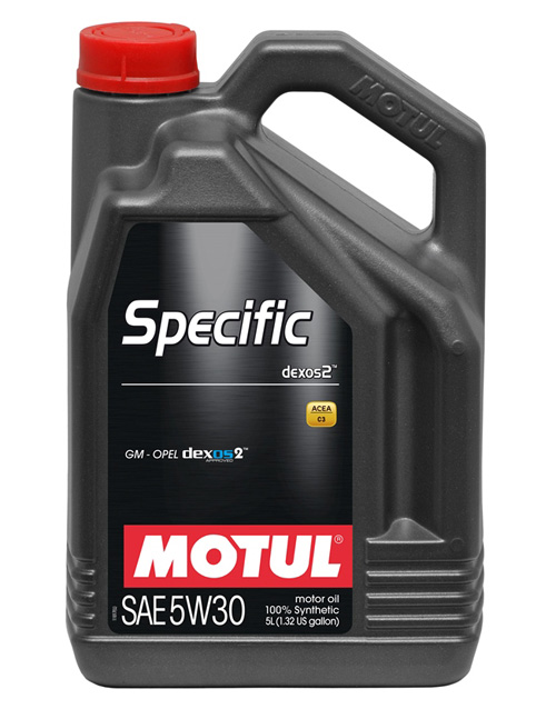 Motul Specific dexos2 5W30 – лучшее синтетическое моторное масло рейтинга 2016