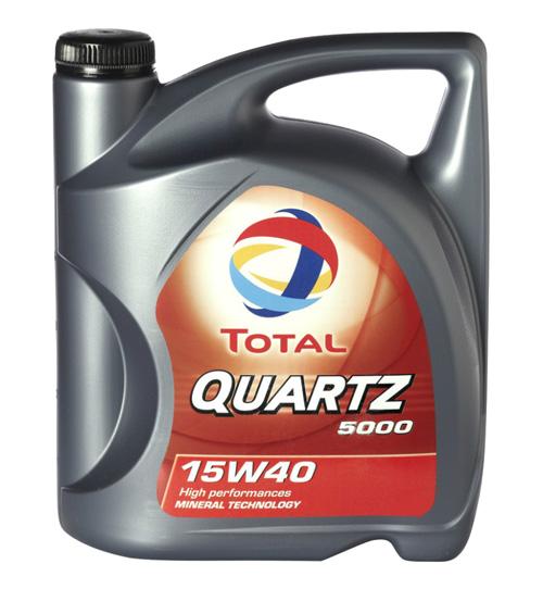 Total QUARTZ 5000 15w40 – лучшее недорогое моторное масло рейтинга 2016