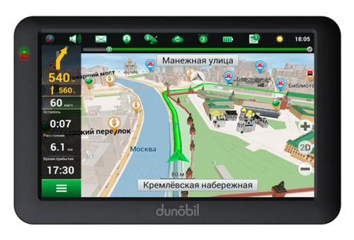 Dunobil Modern 5.0 – лучший GPS-навигатор рейтинга 2016 года относительно цены-качества