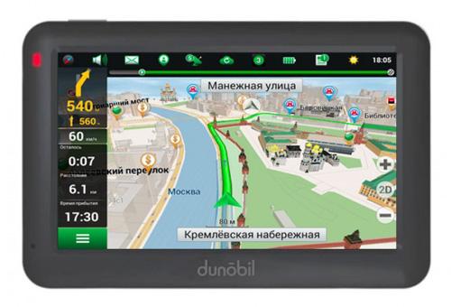 Dunobil Modern 4.3 – лучший недорогой GPS-навигатор рейтинга 2016 года