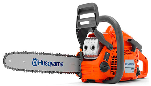 Husqvarna 135 – второе место в рейтинге лучших легких бензопил 2016.