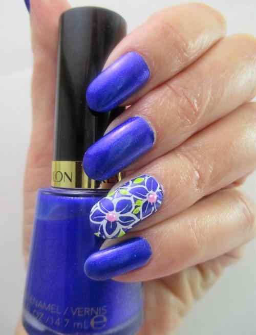 Смешанная техника. Цвета: фиолетовый, розовый, перламутровый и голубой.