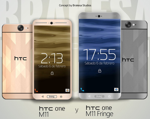 Смартфон HTC One M11.