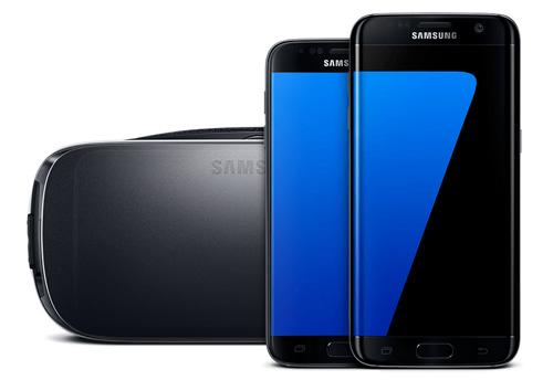 Флагман Samsung Galaxy S7 Edge.