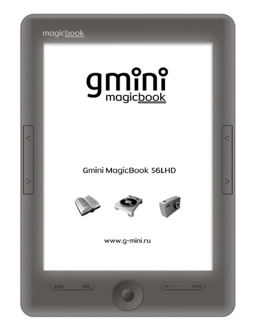 Читалка Gmini MagicBook S6LHD.