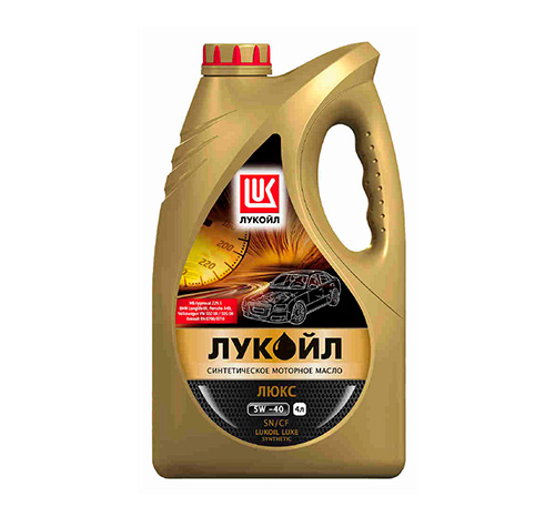 Синтетическое моторное масло Лукойл Люкс 5W/40 SN/CF.