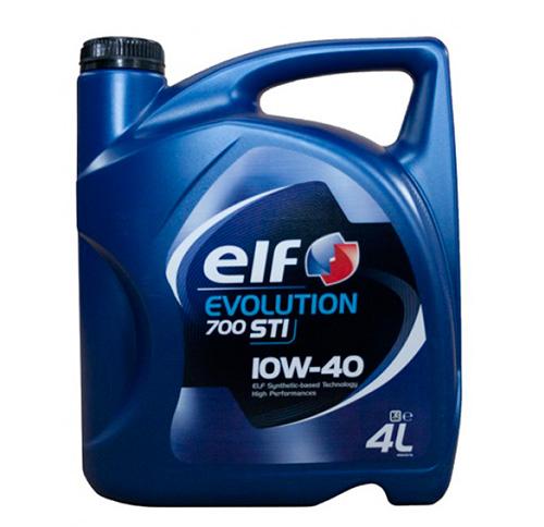 Полусинтетическое моторное масло ELF Evolution 700 STI 10W-40.