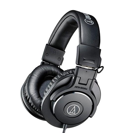 Накладные наушники Audio-Technica ATH-M30x.