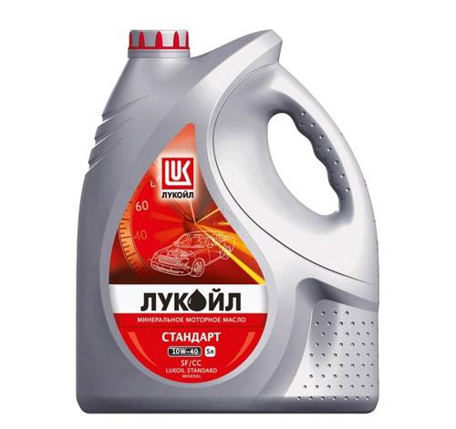 Минеральное моторное масло Лукойл Стандарт 10W-40 SF/CC.