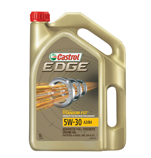 Зимнее моторное масло Castrol EDGE 5W-30.