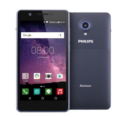 Philips S386 – лучших смартфон 2018 года с хорошей батареей и ценой до 10000 рублей.