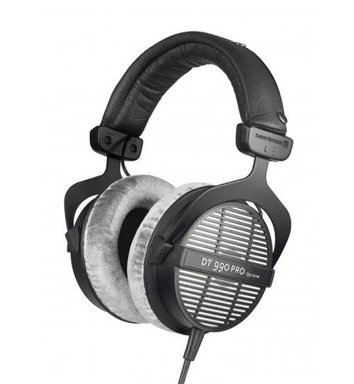 Накладные наушники для музыки Beyerdynamic DT 990 PRO.