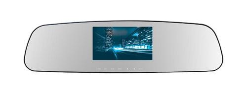 TrendVision MR-710GP – лучший видеорегистратор встроенный в зеркало 2018 года.