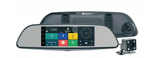 Видеорегистратор встроенный в зеркало ParkCity DVR HD 900.