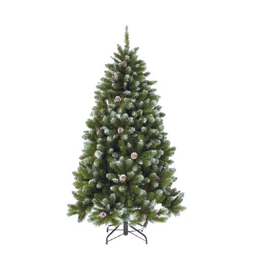 Triumph Tree Ель Императрица с шишками заснеженная – лучшая новогодняя искусственная елка 2018 года.