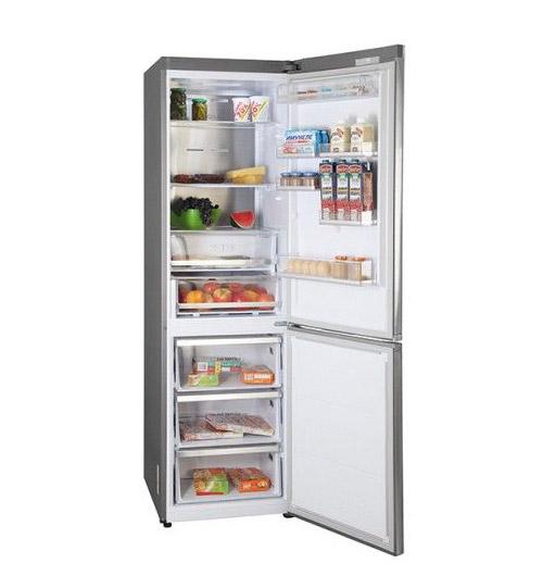 Тихий холодильник Samsung RB-41 J7861S4.