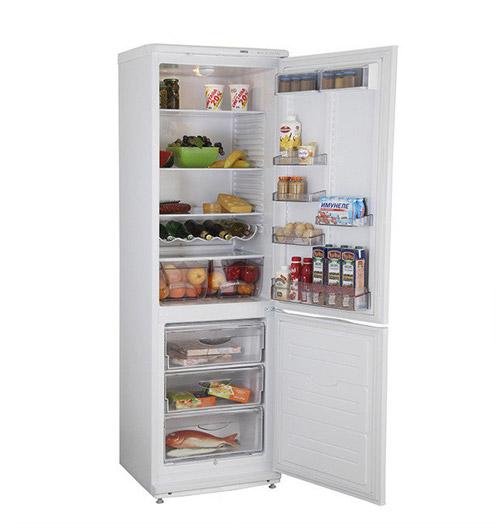 Тихий холодильник ATLANT ХМ 6024-031.
