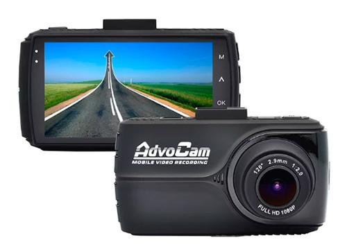 AdvoCam-FD8 Gold-II GPS+ГЛОНАСС – лучший видеорегистратор 2018 года.