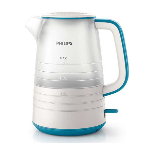 Пластиковый электрический чайник Philips HD9334.