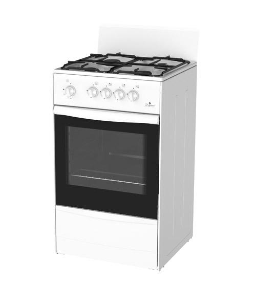 Недорогая газовая плита Darina S GM441 002W.