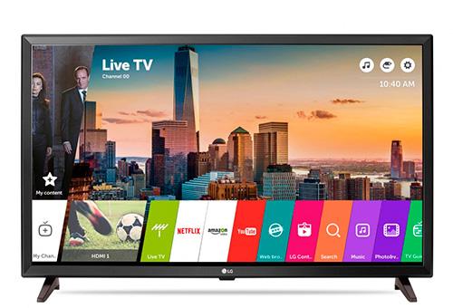 LG 32LJ610V – лучший телевизор LG на 32 дюйма 2018 года.