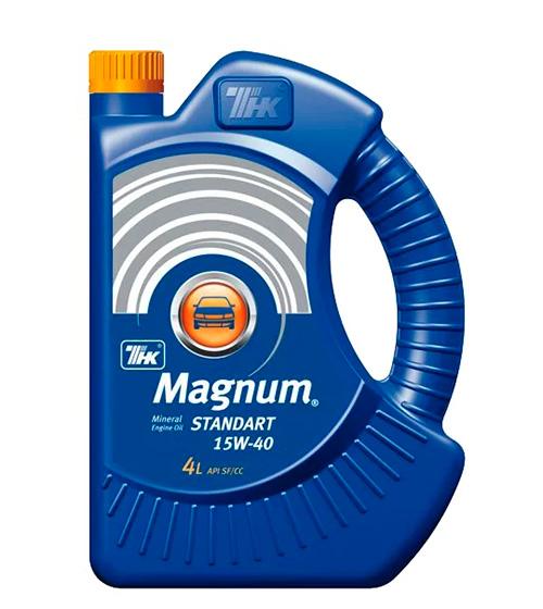 ТНК Magnum Super 10W-40 – лучшее недорогое моторное масло 2018 года.