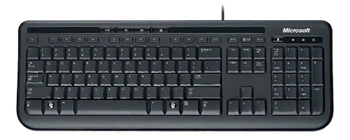 Мембранная клавиатура Microsoft Wired Keyboard 600 Black USB.