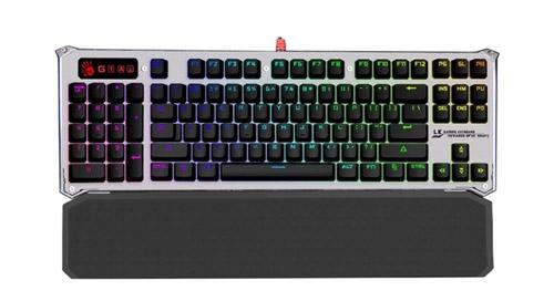 Механическая клавиатура A4Tech Bloody B845R Silver USB.