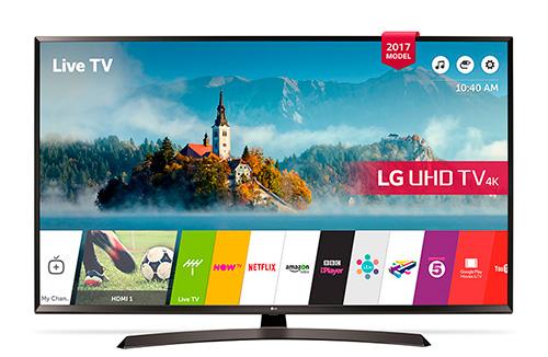 LG 43UJ634V – лучший 4k телевизор на 43 дюйма рейтинга 2018 года.