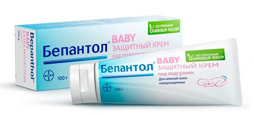 Крем от опрелостей для новорожденного Бепантол Baby.